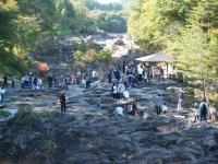 秋の厳美渓2018-10-21重箱石076