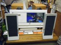 9インチ液晶テレビ&DVDコンポ FL-D9FSWH重箱石02