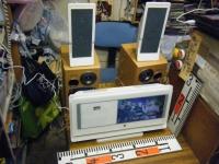 9インチ液晶テレビ&DVDコンポ FL-D9FSWH重箱石01