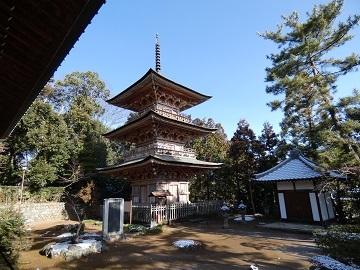 1 安楽寺三重塔