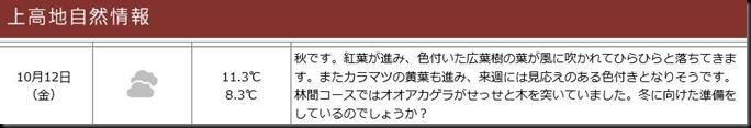 konashidaira201810-上高地自然情報1012