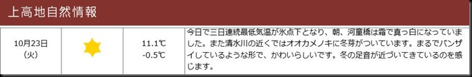 konashidaira201810-上高地自然情報1023
