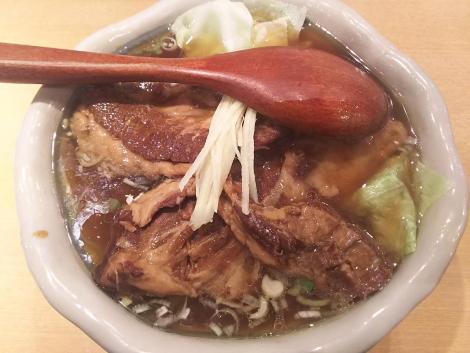 さっぱり肉麺
