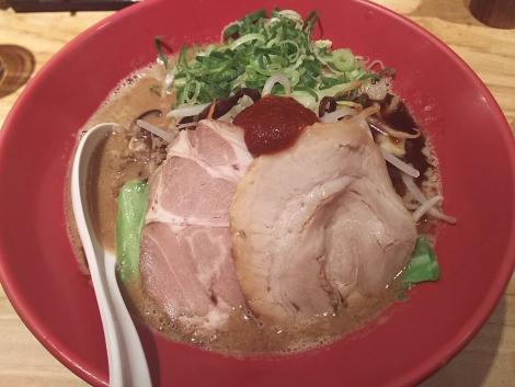 味噌赤丸タンメン野菜