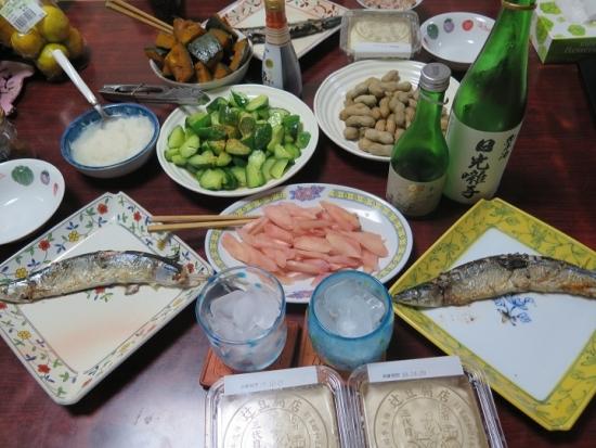 美味しい豆腐のある晩ご飯