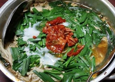 角煮リサイクル柳川風鍋