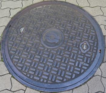 大阪 マンホール