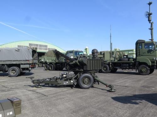 エアフェスタ浜松2018 20mm対空機関砲 VAPS-1改