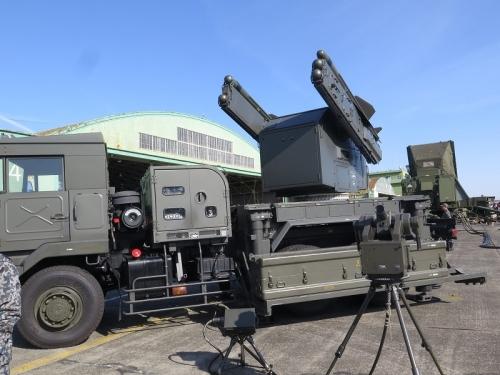 エアフェスタ浜松2018 81式短距離地対空誘導弾発射装置