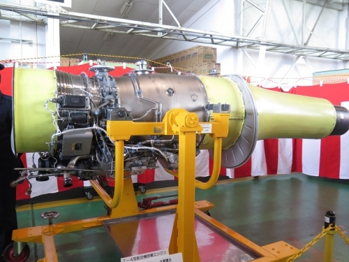 エアフェスタ浜松2018 T-4型航空搭載エンジン
