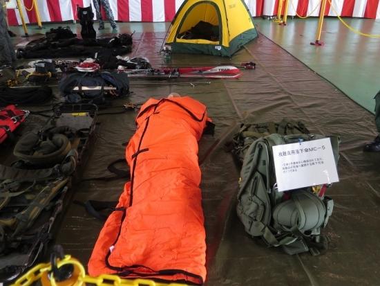 エアフェスタ浜松2018 救難装備品