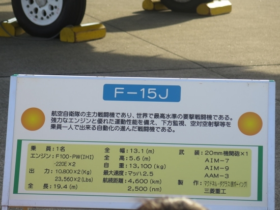 エアフェスタ浜松2018 F-15J
