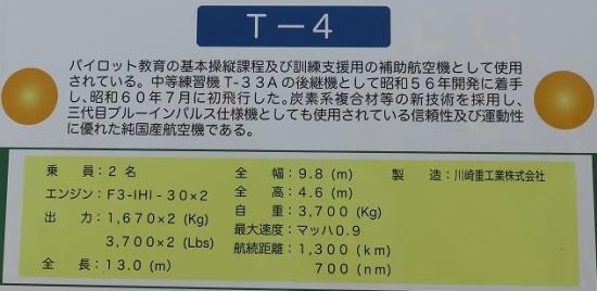 エアフェスタ浜松2018 T-4