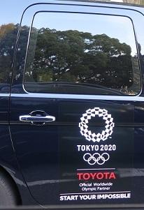 東京オリンピック タクシー
