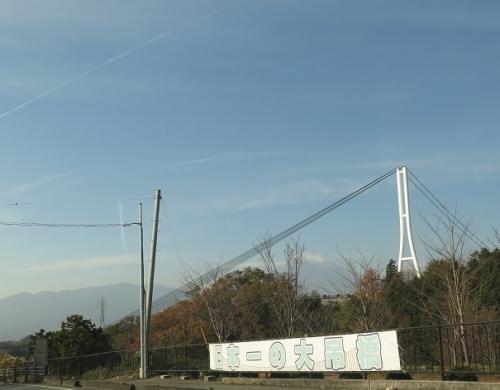 日本一の大吊り橋