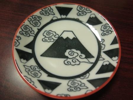 富士山の小皿