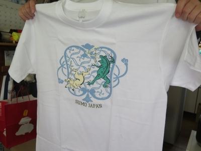 鳥獣戯画 相撲Tシャツ