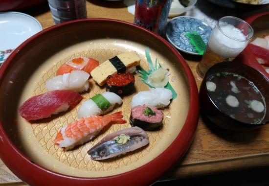 特上お寿司