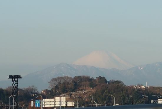 横浜から見える富士山