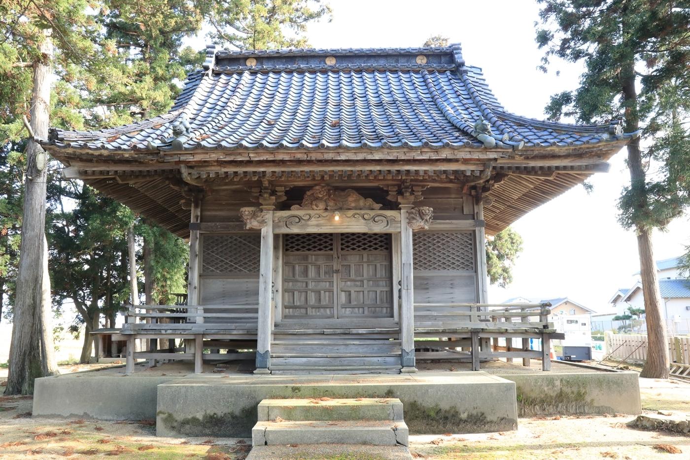 ● ●S2018・11・26阿賀野市前山諏訪神社