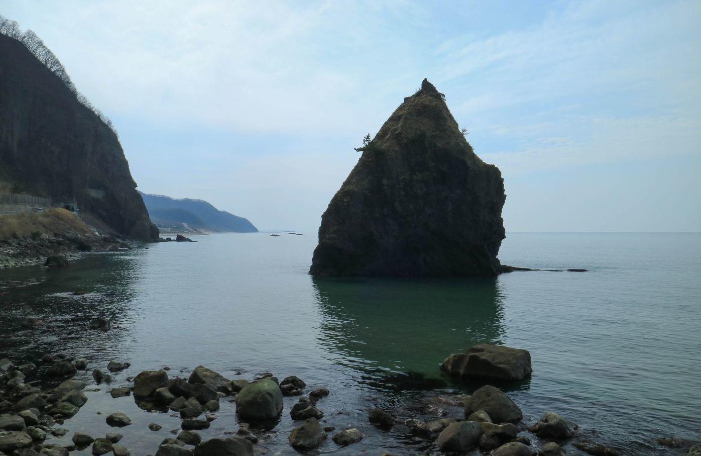 ●海岸から立岩