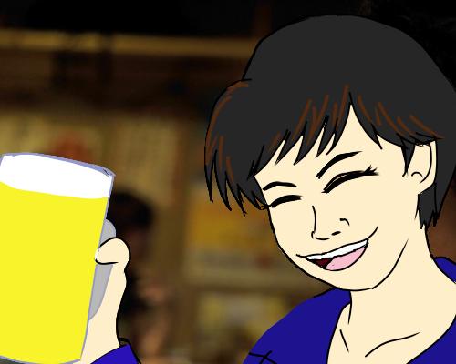 ビール ポラン  居酒屋