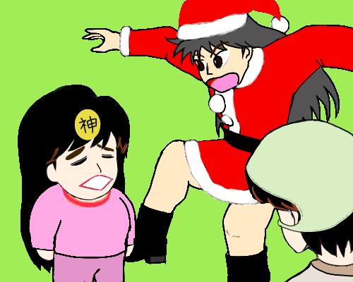 神 うわあ 宮沢サンタ こじじ ポラン  みどり