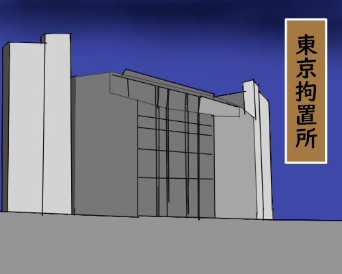 東京拘置所 とうめい そら