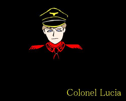 ルチア  小さい 真顔 赤  黒い