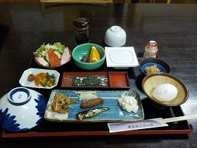 湯之谷山荘朝食