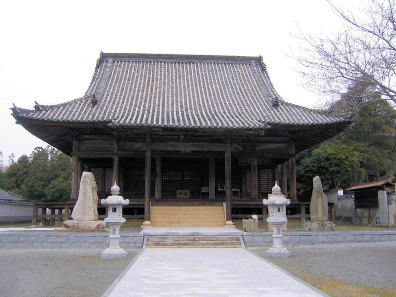 2007年にダメもとで訪れたときの大賀島寺~訪れる人は誰もいなかった