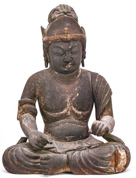 臨川寺・菩薩像(重文・平安前期)