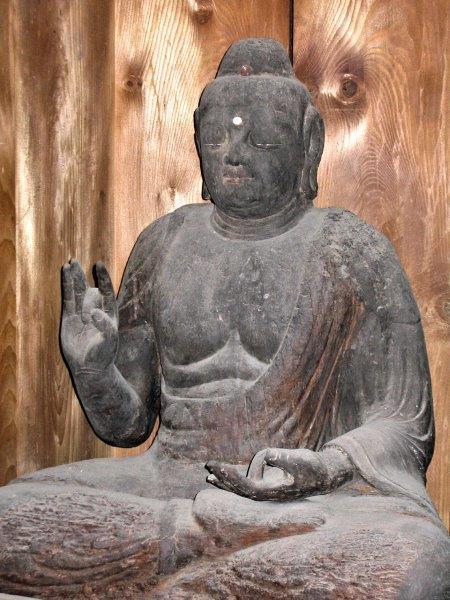 法音寺・伝釈迦如来像(県文・平安前中期)