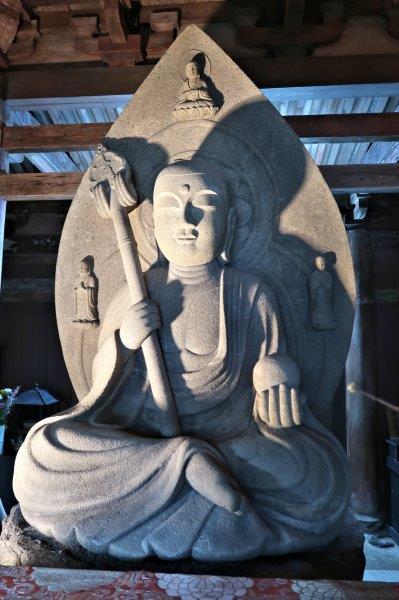 地蔵峰寺・地蔵菩薩像(重文・鎌倉)