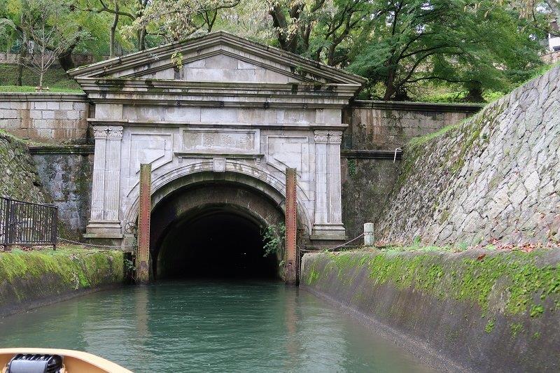 琵琶湖疏水・三井寺側入口