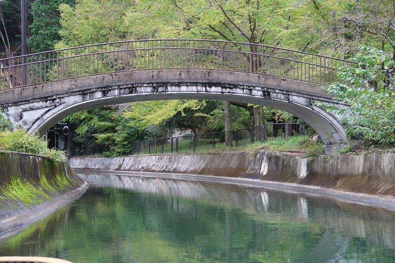 琵琶湖疏水・山科近辺