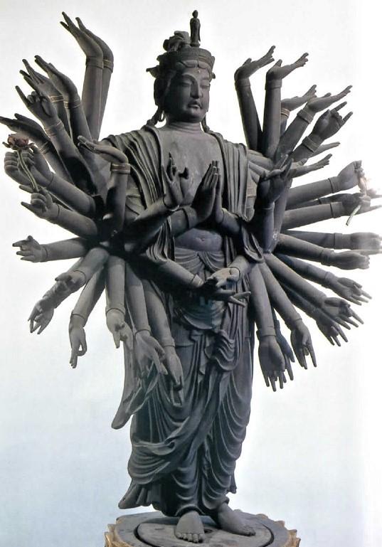 大賀島寺・千手観音像