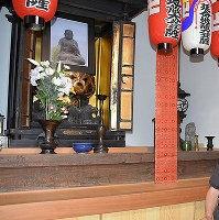 新町地蔵保存会・地蔵菩薩像が祀られていた小さなお堂