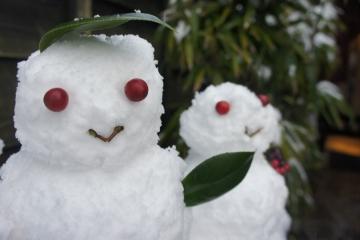 雪だるま (2)