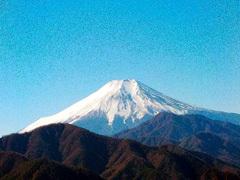 018高畑山の山頂から富士山