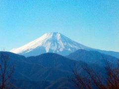 031倉岳山からの富士山