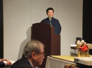 司会者は、円頓寺で活躍する歌舞伎役者市川智也さん