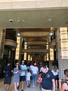 ジャパンハウスの入り口