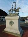 JR串本駅 レディ・ワシントン号像