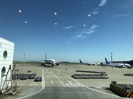 10022018 広島空港出発ANA674羽田空港 S9