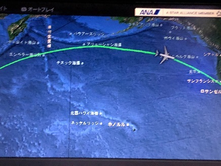 10022018 ANANH6便 航路画面S
