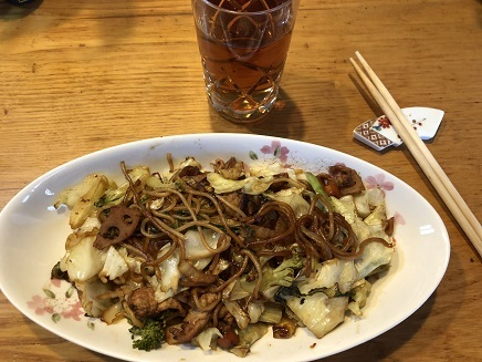 11012018 lunch 焼きそば S