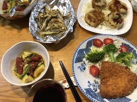 10302018 Dinner晩酌 S