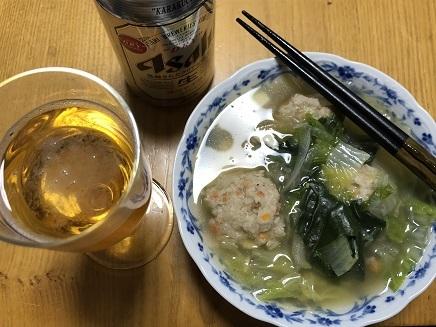 10312018 Dinner蓮根団子汁 S1
