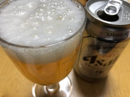10312018 晩酌ビール S